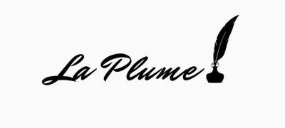 Logo for La Plume Magazine